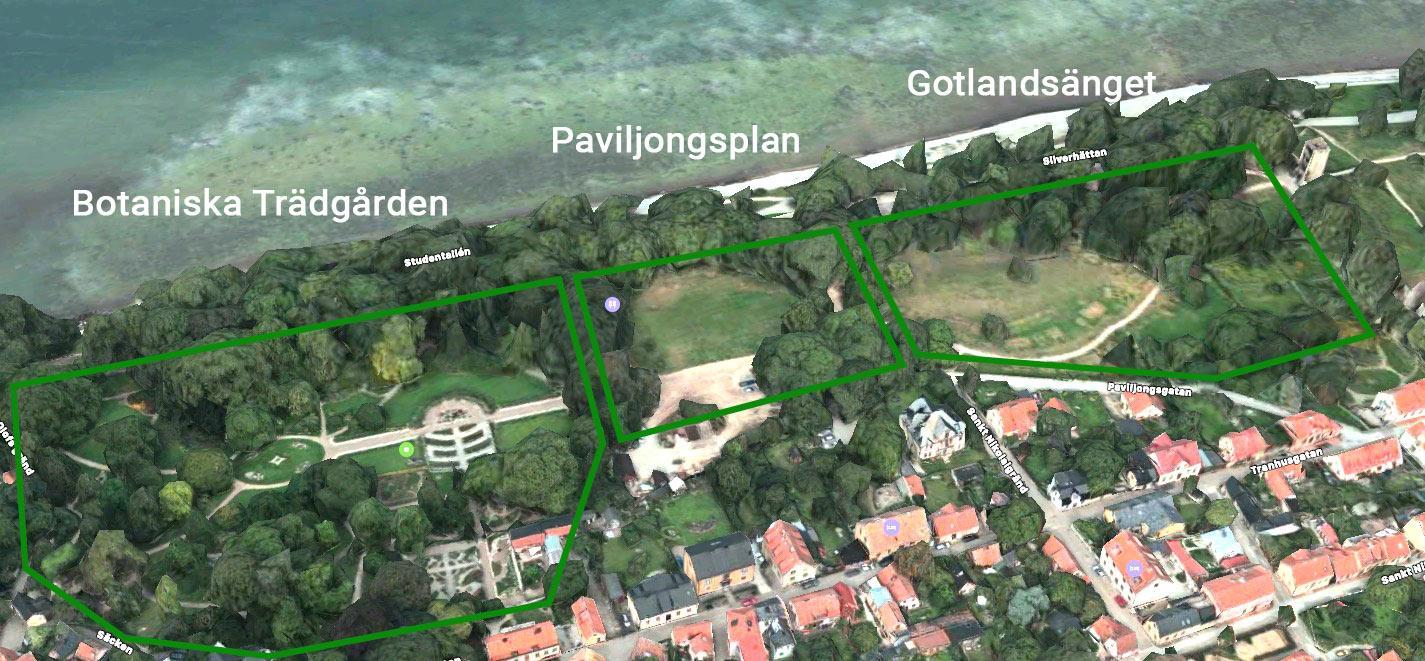 Gotlandsänget & Paviljongsplan